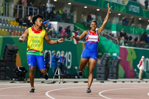 Omara Durand gana su segunda medalla de oro en estos Juegos Parapanamericanos de Lima 2019.