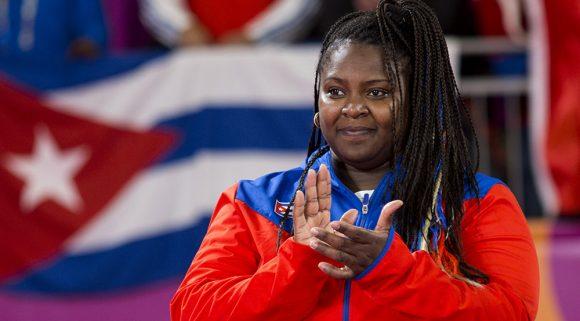 Idalis Ortiz, tricampeona de los Juegos Panamericanos. Foto: Irene Pérez/ Cubadebate.