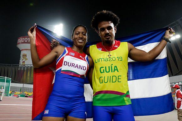 Parapanamericanos: Omara de oro y sus veloces piernas en Lima 2019