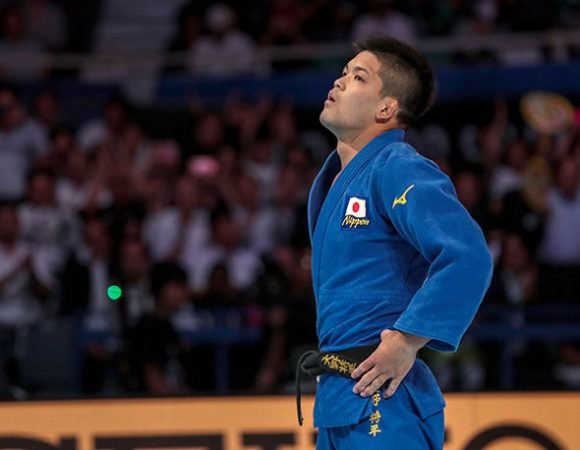 El oro en los 73 kg fue para el representante de Japón Shohei Ono.