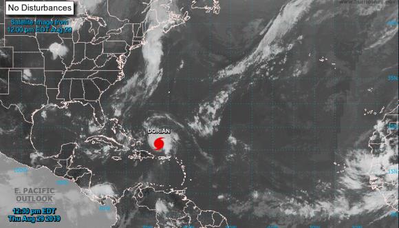 Florida declara estado de emergencia por huracán Dorian
