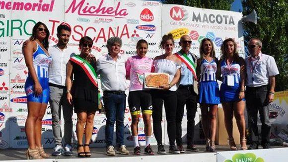 Arlenis Sierra dominó prólogo del Giro a Toscana