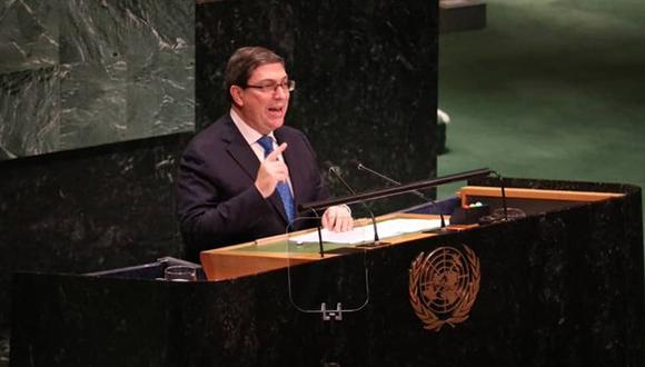 Bruno Rodríguez reitera que Cuba no hará concesiones ante amenazas y chantajes (+Infografía)