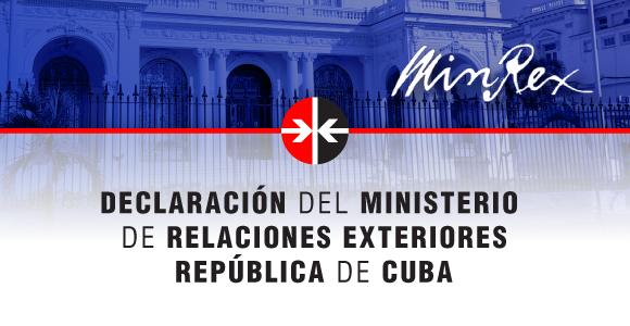 Minrex: La pandemia demuestra la necesidad de cooperación pese a las diferencias políticas