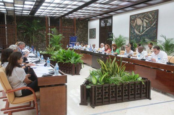 Sesionó Comité Conjunto Cuba-Unión Europea