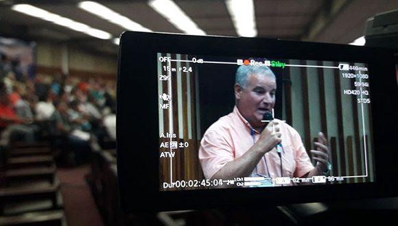 Delegado de la Agricultura en Pinar del Río, Víctor Hernández. Foto: Daimy Díaz Breijo/Tele Pinar.