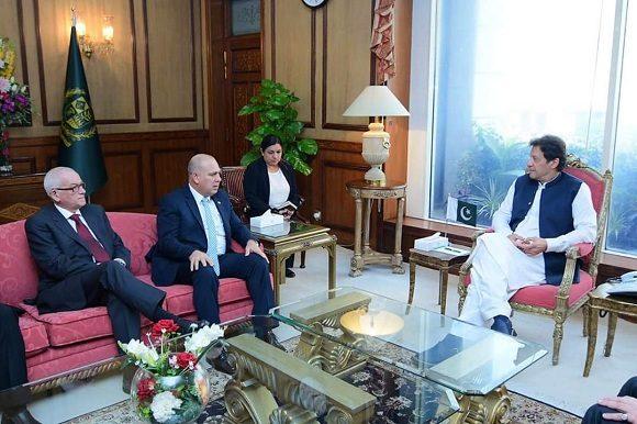 Presidente y Primer Ministro de Pakistán reciben a Morales Ojeda en Islamabad
