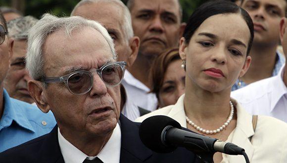En nombre del pueblo de Cuba, Eusebio Leal despide a Alicia Alonso (+Fotos)