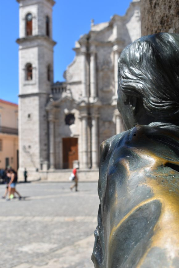 La plaza de la Catedral comenzó llamándose plaza de La Ciénaga. Foto: Lili Chang