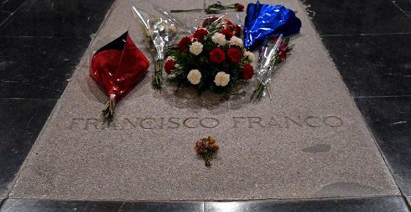 Restos de Franco no reposarán más en el Valle de los Caídos