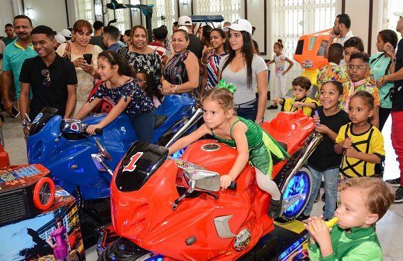 Inauguración del Parque Tecnológico La Finca de los Monos, en La Habana, el 10 de noviembre de 2019. Foto: Marcelino Vázquez/ACN