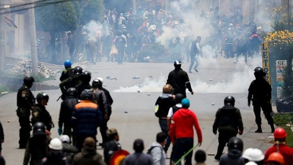 Es inaceptable el Golpe de Estado contra el gobierno de Evo Morales