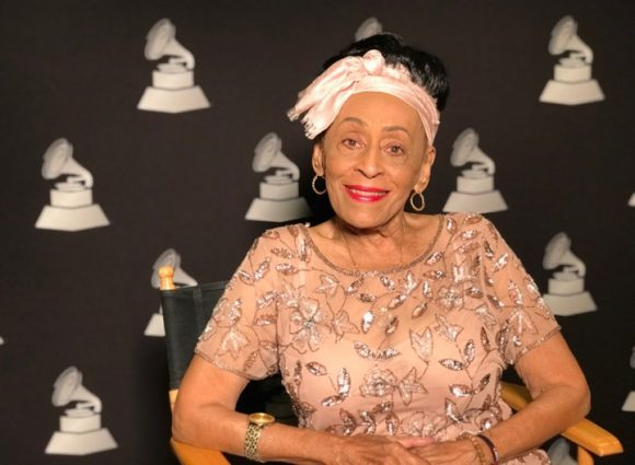 Omara Portuondo receives Latin Grammy Music Excellence Award