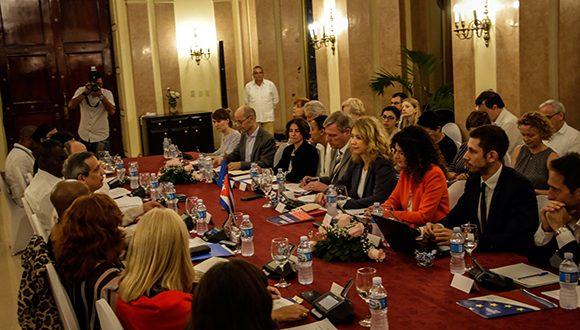 Segundo diálogo entre Cuba y la Unión Europea sobre medidas coercitivas unilaterales