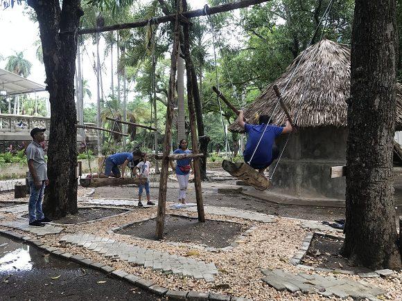 El Palacio Tecnológico cuenta con áreas temáticas e interactivas para la diversión y el aprendizaje. Foto: Dinella García/Cubadebate.
