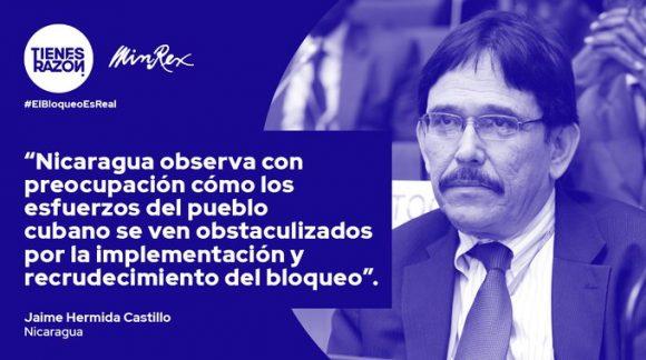 Venezuela apoya resolución de ONU del levantamiento del bloqueo contra Cuba