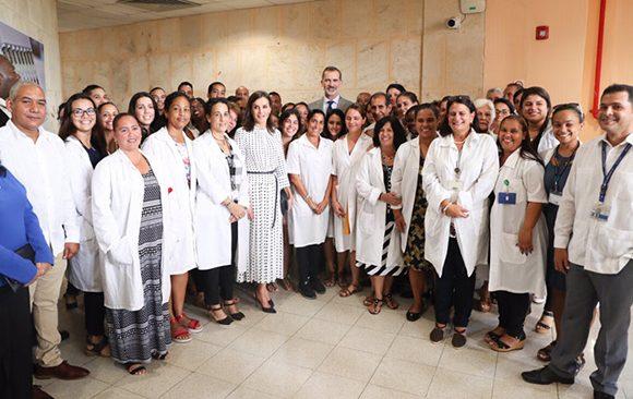 Reyes de España concluyen visita a La Habana y viajan a Santiago de Cuba (+Fotos)