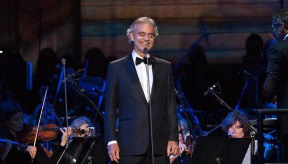 Se presentará en Cuba reconocido cantante italiano Andrea Bocelli