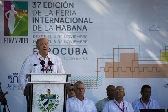 Asiste Díaz-Canel a inauguración de la XXXVII Feria Internacional de La Habana (+ Fotos)