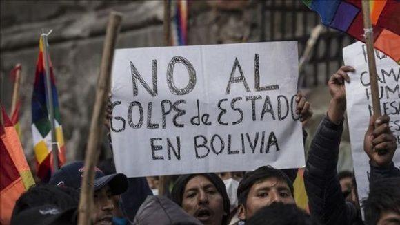 Golpe en Bolivia