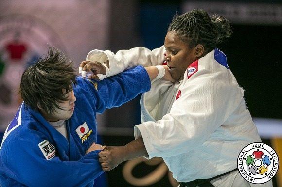 Idalys Ortiz da plata a Cuba en Grand Slam de Judo en Osaka