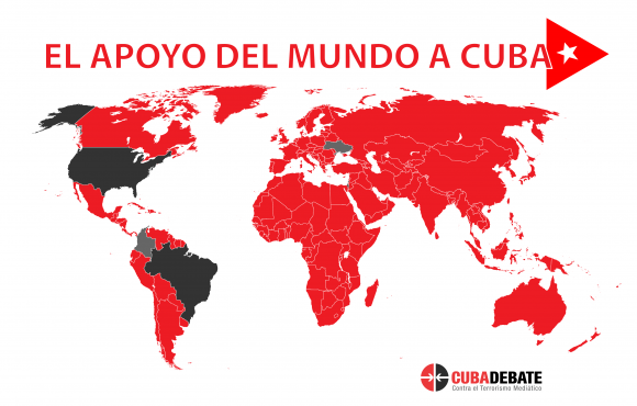 ONU vota para poner fin al bloqueo de EU en Cuba