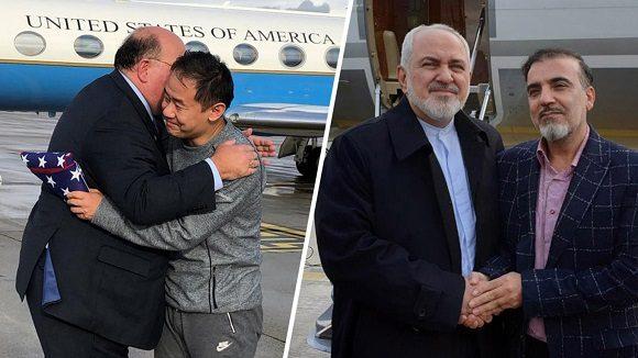 Liberados un estadounidense y un iraní en un intercambio de prisioneros