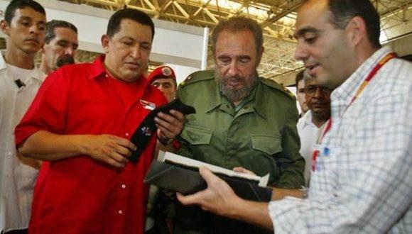 Recorrido por Expocuba en ocasión de la primera reunión Cuba - Venezuela para la aplicación de la Alternativa Bolivariana para las Américas (ALBA) con sede en este recinto ferial. Foto: ACN