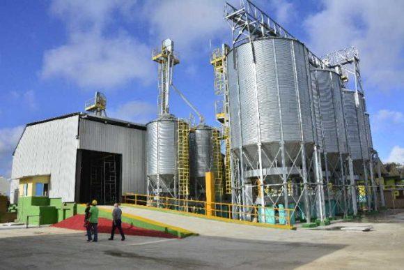 Por nuevos mercados primera planta cubana de secado de granos