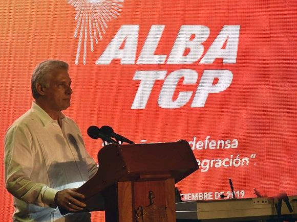 Díaz-Canel: Lo que no nos perdonan los EEUU y las oligarquías latinoamericanas es que hayamos construido modelos incluyentes y comprometidos con el pueblo