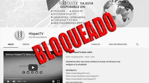 Iran Lanza Su Propio Sitio Para Videos Tras Google Bloquear Acceso De Hispantv Y Press Tv A Youtube Cubadebate