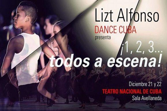 Lizt Alfonso prepara espectáculo con varias generaciones de bailarines