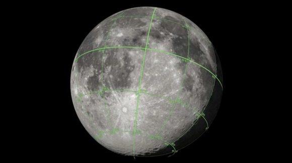 Publica la NASA el primer mapa tridimensional de la Luna