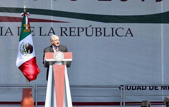 México celebra el primer año de Gobierno de López Obrador