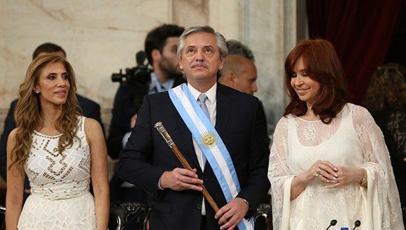 Alberto Fernández tomó posesión como presidente de Argentina #10Dic