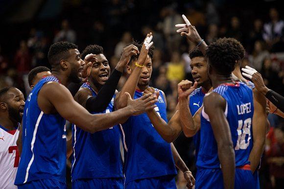 Cuba logra importante victoria ante Puerto Rico en Preolímpico de Voleibol