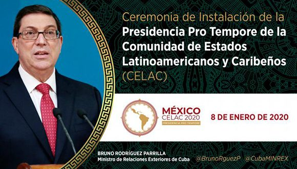 Canciller cubano aboga en México por revitalizar la Celac