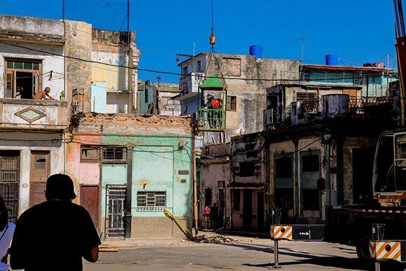 Derrumbe en La Habana Vieja provoca muerte de tres menores de edad