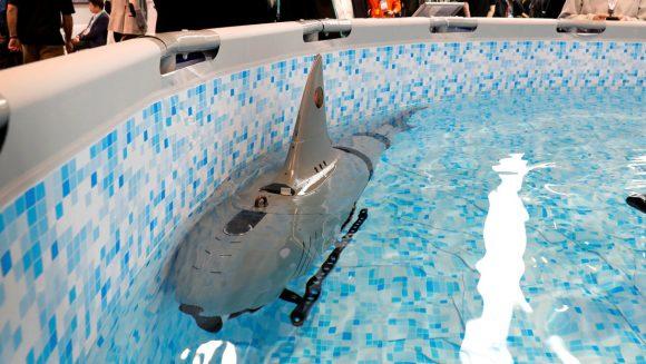 Crean en China un tiburón robótico que puede utilizarse con fines militares