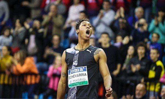 Juan Miguel Echevarría: Inalcanzable en Madrid, con 8.41 metros