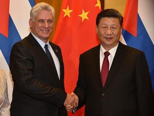 Presidentes de Cuba y China conversaron por vía telefónica