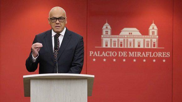 Jorge Rodríguez: Guaidó participa en una trama de corrupción
