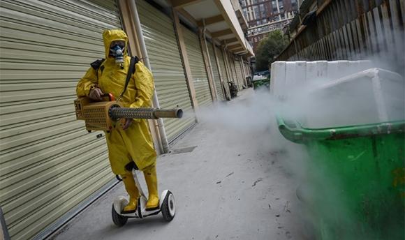 La imagen del día: Wuhan, en China, regresa poco a poco a la normalidad