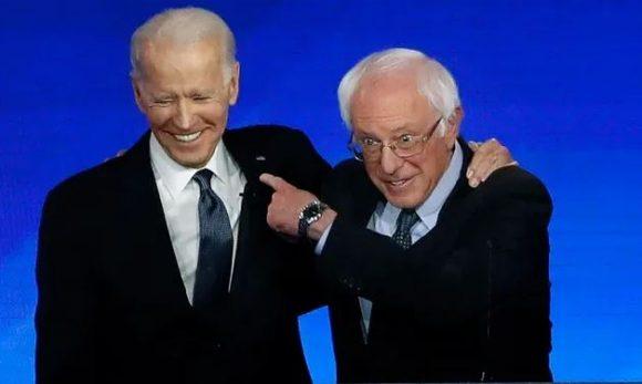 Sanders apoya candidatura presidencial de Joe Biden