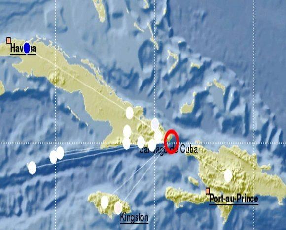 Sismo perceptible en localidades del oriente cubano