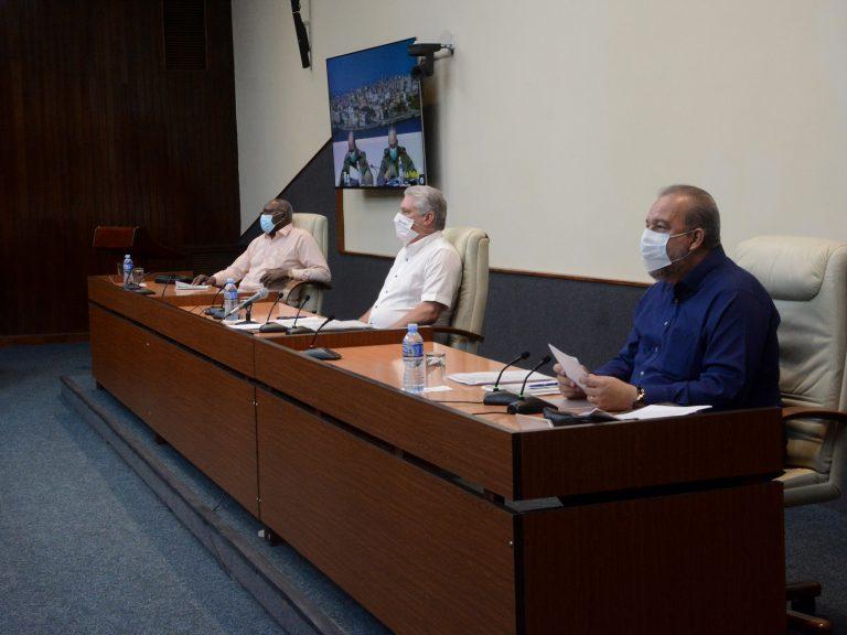 Gobierno cubano continúa atento a los detalles en enfrentamiento a la COVID-19