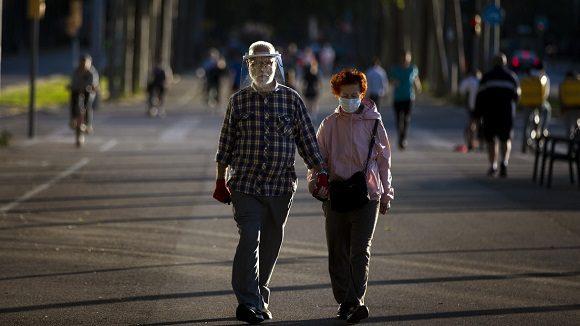 España ancianos covid