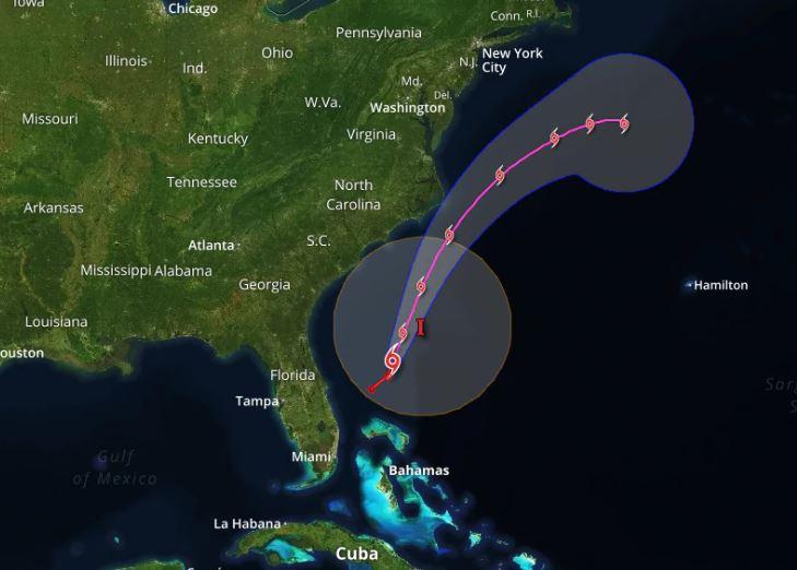 Arthur, primera tormenta tropical antes del inicio oficial de la temporada ciclónica
