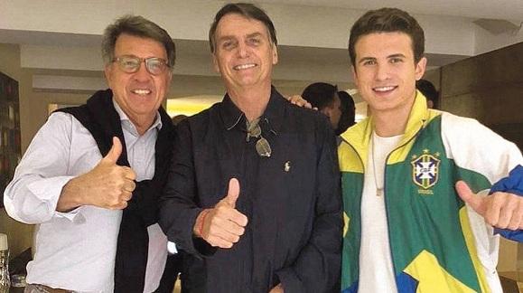 Empresario apunta a hijo mayor de Bolsonaro como cómplice de corrupción