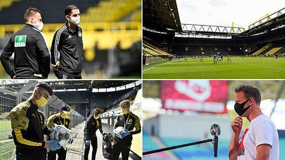 La Bundesliga adoptó estrictas medidas de seguridad en la reanudación de la competición